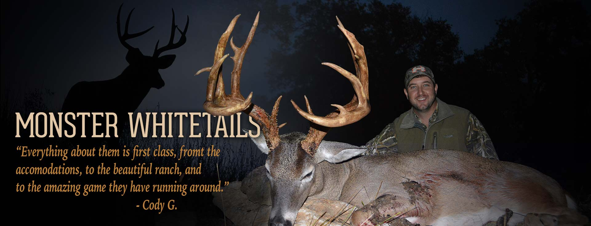 Monster Texas Whitetails
