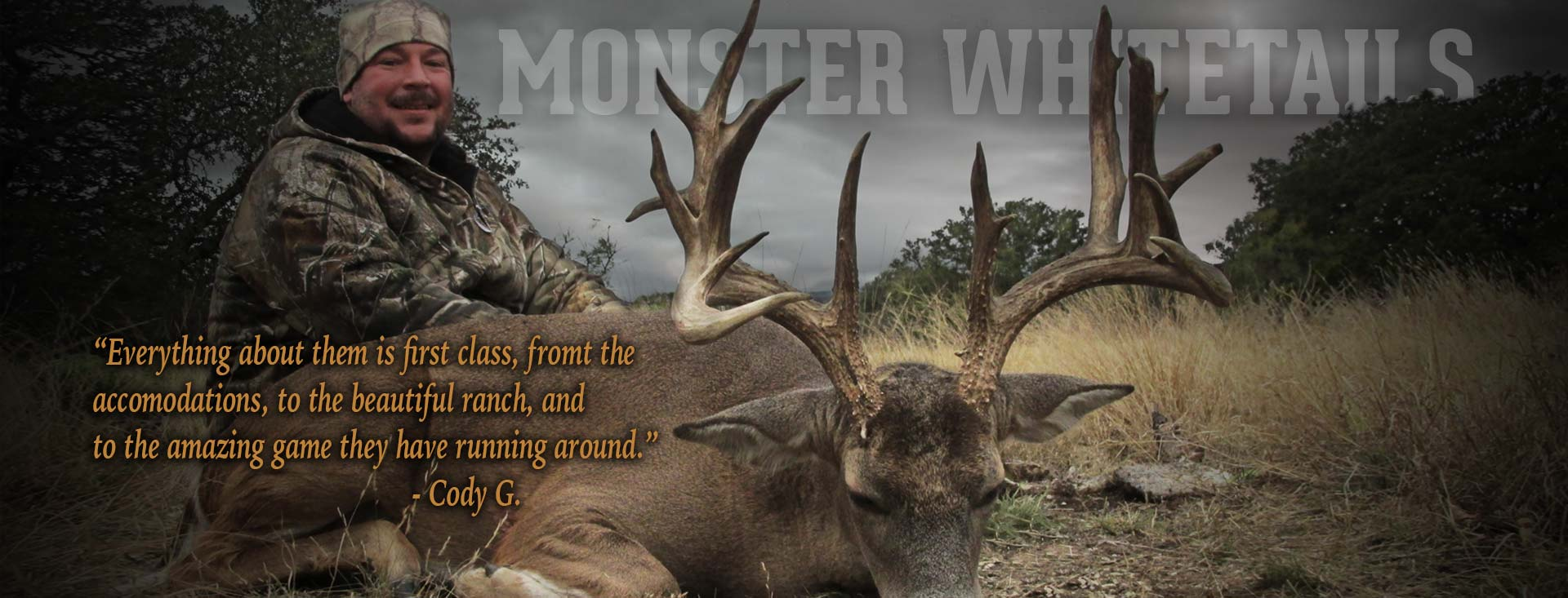 Texas Whitetail Hunting Packages