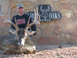 Great shot made by Troy Owens on his 145 4/8 10 point buck.