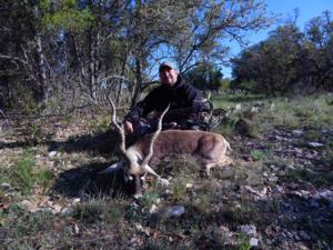Blackbuck taken with a bow by Jeremy Guillory of Colorado.