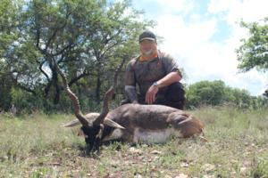 Blackbuck taken by Josh Goff on a spot and stalk hunt.
