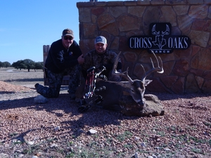 10 Point 141 inch Whitetail buck taken by Jesse Silva of Colorado with his bow!