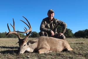 Great 175 inch 14 point taken by Rick Riley of Arkansas!