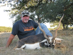 Injured Blackbuck taken by Guide Bill Lohn.