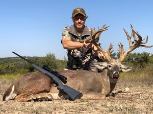 Huge 294 Inch 47 point Whitetail Buck Taken by Blaine. A New Ranch Record!