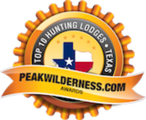 <p>We are honored to be selected as one of the Top 10 Hunting Lodges in Texas!</p>