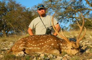 Jason Williams with a great Axis Buck