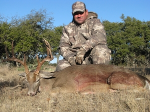 Rick Lawson took this 145 inch 10 point buck.