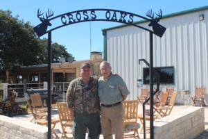 Whitetail hunters Jim and Vince Rizzo.