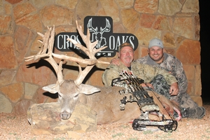 198 inch 19 point monster taken by Bill Lohn, given as a gift by his long time hunter Jesse Silva.