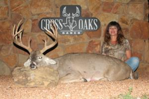 Awesome 171 inch 12 point taken by Jill Guillory of Colorado!