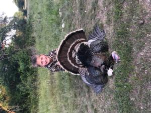 Easton Silva took this awesome Gobbler on his first real hunt! Great Job Easton! We are all very proud of you!