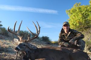 Blaine from California this his heavy horned 157 gross score 9 point