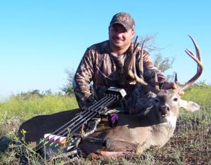 158 5/8 Typical 10 point taken with a Bow by Jesse Silva of Colorado.